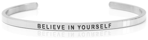 BELIEVE IN YOURSELF Swedish steel (Buy One Give One collection)