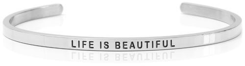 LIFE IS BEAUTIFUL Swedish steel (Buy One Give One collection)