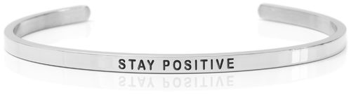STAY POSITIVE Steel (Buy One Give One collection)