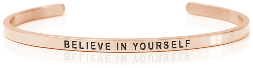 BELIEVE IN YOURSELF 18K Rose gold (Buy One Give One collection)