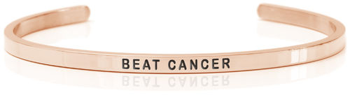 BEAT CANCER 18K Rose gold, Swedish steel NON-PROFIT (Beat Collection)