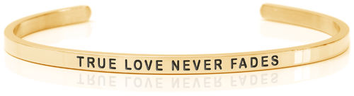 TRUE LOVE NEVER FADES 18K Gold, Swedish steel (Buy One Give One collection)