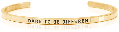 DARE TO BE DIFFERENT 18K Gold, Swedish steel (Buy One Give One collection)