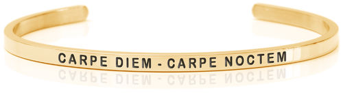 CARPE DIEM - CARPE NOCTEM 18K Gold, Swedish steel (Buy One Give One collection)