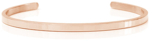Pure 18K Rose gold, Swedish steel (Buy One Give One collection)