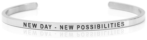 NEW DAY – NEW POSSIBILITIES Steel (Buy One Give One collection)