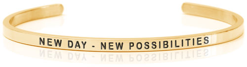 NEW DAY – NEW POSSIBILITIES 18K Gold (Buy One Give One collection)