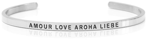 AMOUR LOVE AROHA LIEBE Swedish steel (Buy One Give One collection)