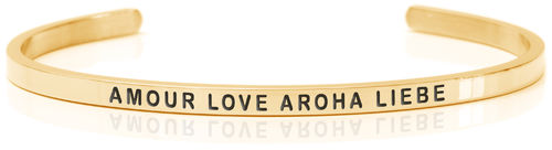 AMOUR LOVE AROHA LIEBE 18K Gold (Buy One Give One collection)