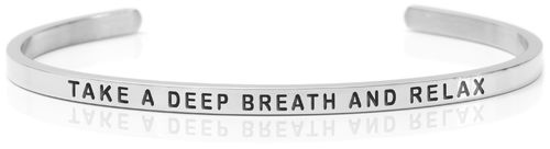 TAKE A DEEP BREATH AND RELAX Swedish steel (Buy One Give One collection)