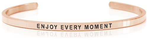 ENJOY EVERY MOMENT 18K Rose gold, Swedish steel (Buy One Give One collection)