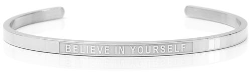 BELIEVE IN YOURSELF Swedish steel (Lisa Collection)