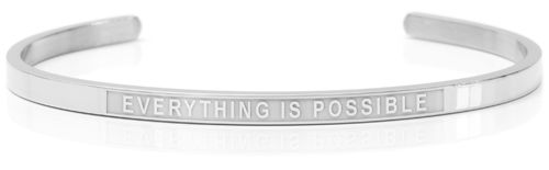"EVERYTHING IS POSSIBLE Steel (Lisa Collection) ""Not for sale in the USA"""