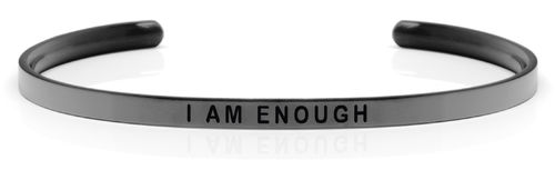 "I AM ENOUGH Space Grey (Moon collection) ""Not for sale in the USA"""