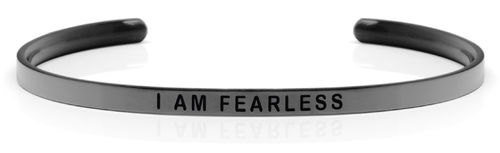 "I AM FEARLESS Space Grey (Moon collection) ""Not for sale in the USA"""
