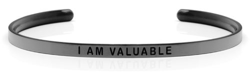 "I AM VALUABLE Space Grey (Moon collection) ""Not for sale in the USA"""