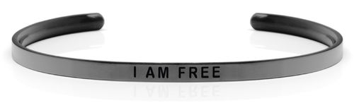 I AM FREE Swedish steel (Space Grey Limited Edition)