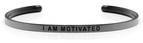 I AM MOTIVATED Swedish steel (Space Grey Limited Edition)