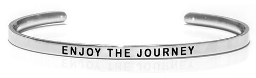 "ENJOY THE JOURNEY Steel (Buy One Give One collection) ""Not for sale in the USA"""