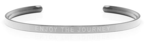 ENJOY THE JOURNEY Steel/Transparent