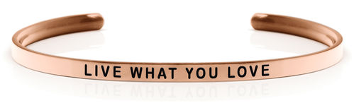 LIVE WHAT YOU LOVE 18K Rose gold (Buy One Give One collection)
