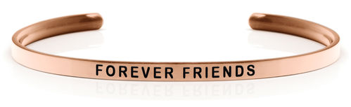 FOREVER FRIENDS Rose gold