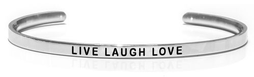 LIVE LAUGH LOVE Steel