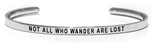 NOT ALL WHO WANDER ARE LOST Steel
