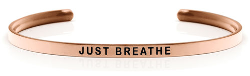 JUST BREATHE Rose gold