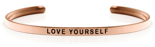 LOVE YOURSELF Rose gold